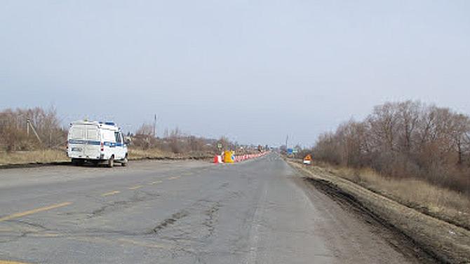 ВСамаре украли мобильный светофор сместа ремонта дороги