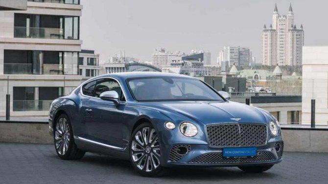ВРоссию прибыло роскошное купе Bentley ContinentalGT Mulliner