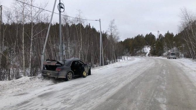 Три человека пострадали в ДТП в Якутске