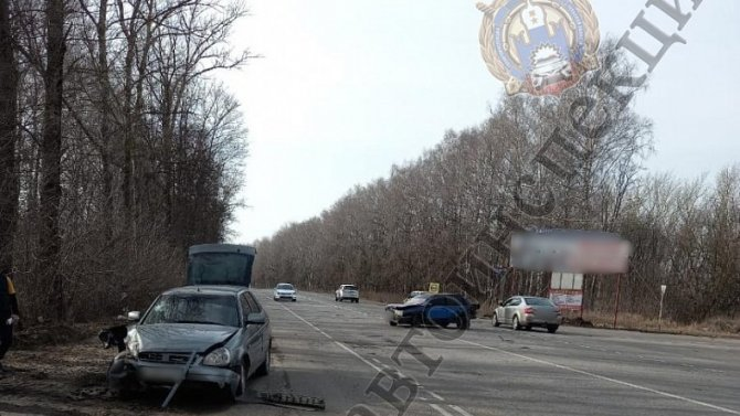Два человека пострадали в ДТП в Узловском районе Тульской области
