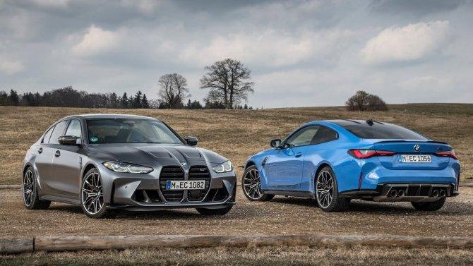 Фирма BMW представила две «заряженные» новинки