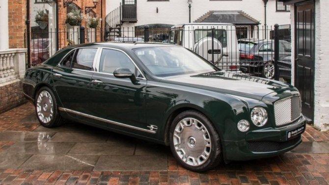 Напродажу выставлен автомобиль королевы ЕлизаветыII