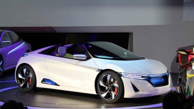 Honda будет использовать всвоих электромобилях американские двигатели