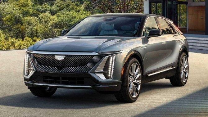 Представлена серийная версия электрокроссовера Cadillac Lyriq