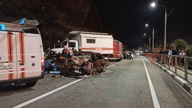 34-летний ростовчанин погиб в ДТП в Сочи