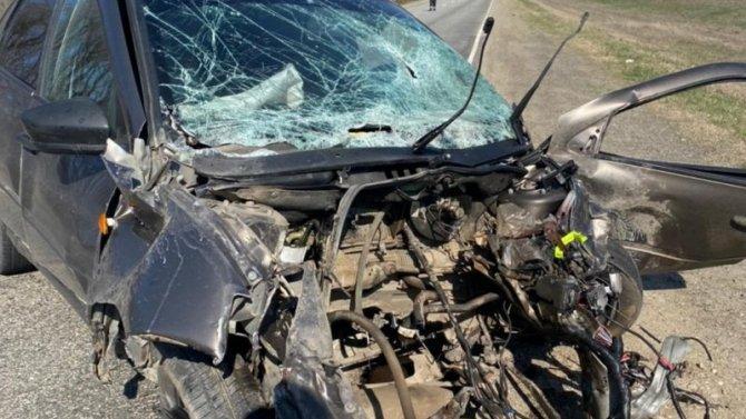 Водитель иномарки погиб в ДТП в Ставропольском крае