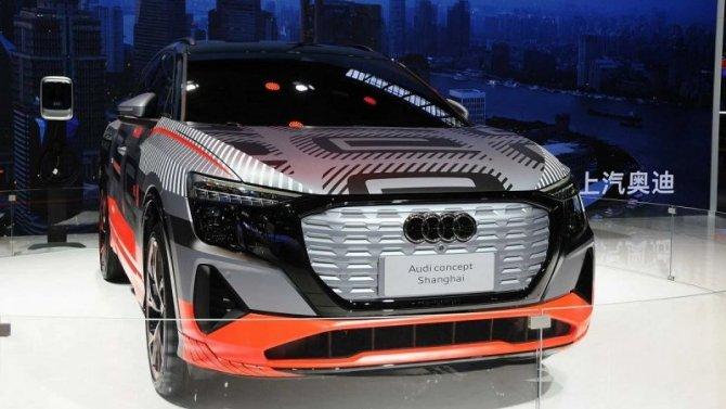 Шанхай-2021: представлен концептуальный электрокроссовер от Audi