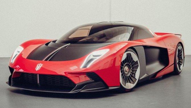 Шанхай-2021: фирма Hongqi представила самый дорогой вКитае автомобиль