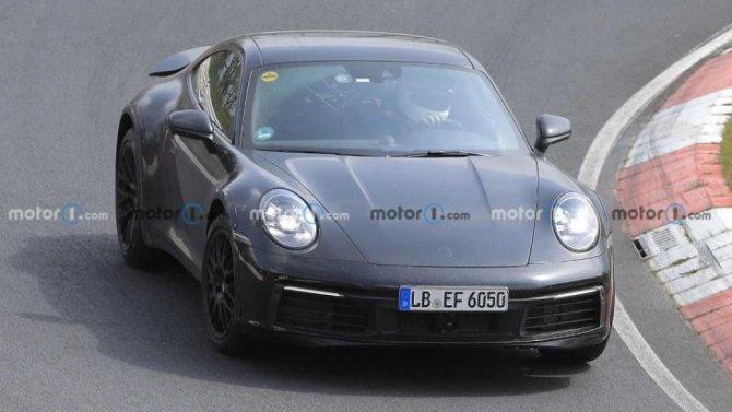 На «Нюрбургринге» появилось вседорожное купе Porsche 911 Safari