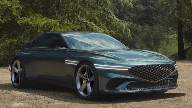 Фирма Genesis представила концептуальный электромобиль