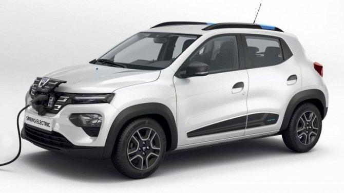 Электромобиль Dacia Spring успешно справился с«Лосиным тестом»