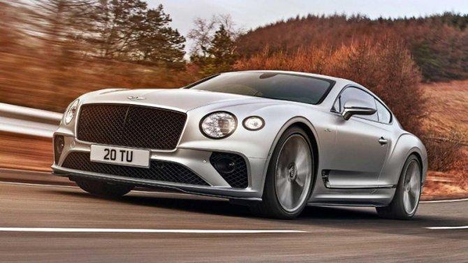Представлено «заряженное» купе Bentley ContinentalGT Speed