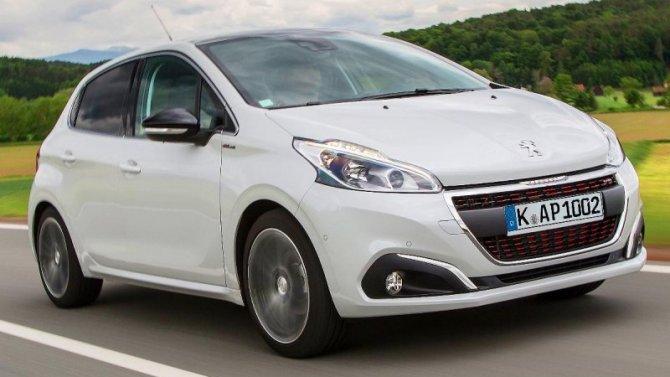 Peugeot 208 стал бестселлером европейского авторынка