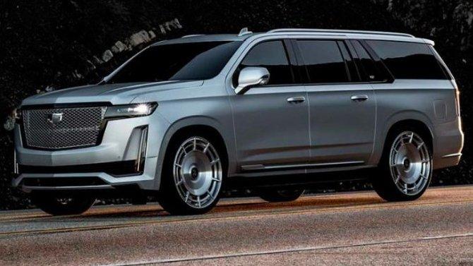 ВСША сделали уникальный Cadillac Escalade ESV для телезвезды