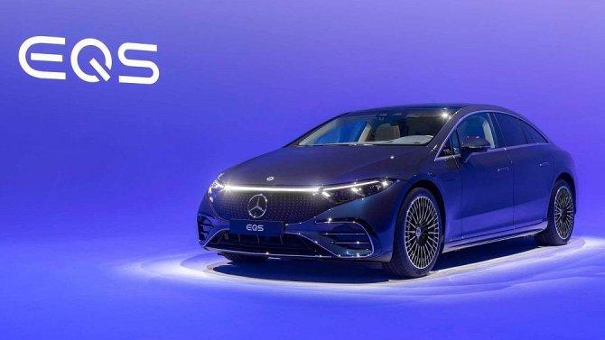 Представлен премиальный электроседан Mercedes-Benz EQS