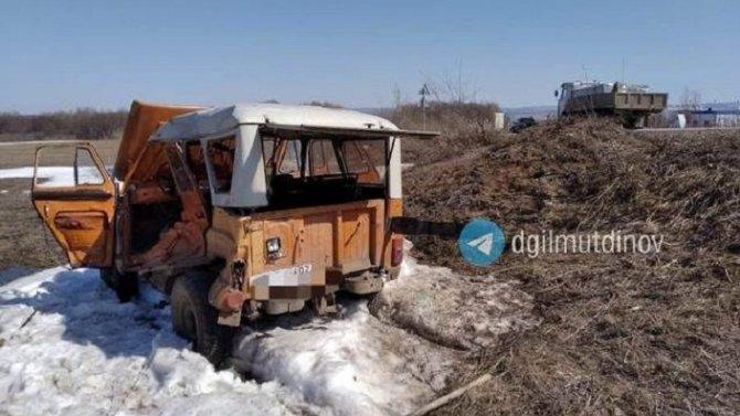 83-летний водитель погиб в ДТП в Ишимбайском районе Башкирии