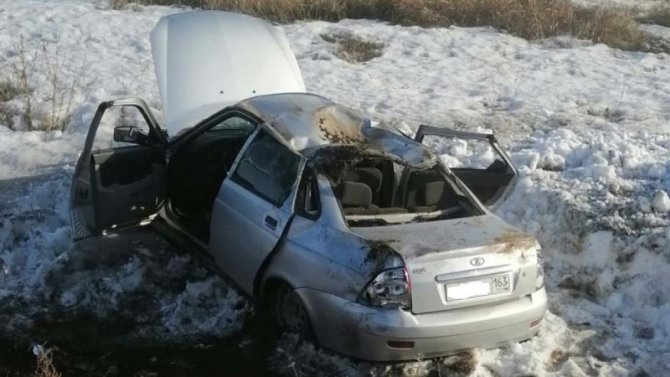 Шесть человек пострадали в ДТП по вине пьяного водителя в Самарской области