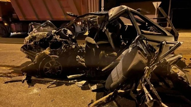 В ДТП под Астраханью погибли три человека