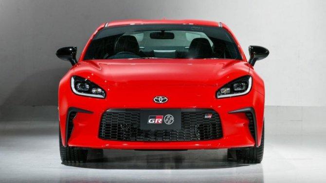 Представлен новый спорткар Toyota GR 86