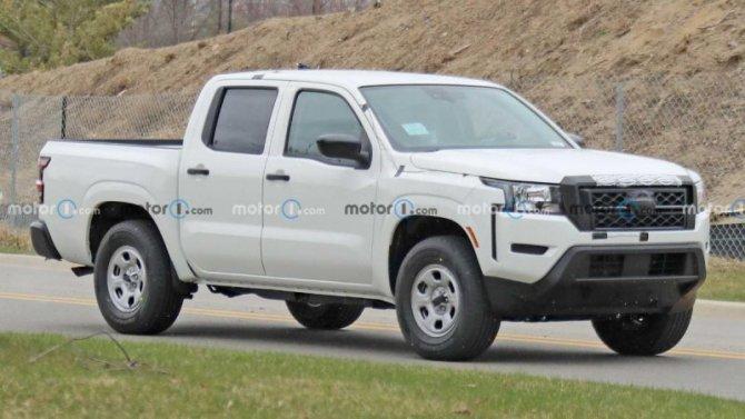 Начались испытания базовой версии нового Nissan Frontier