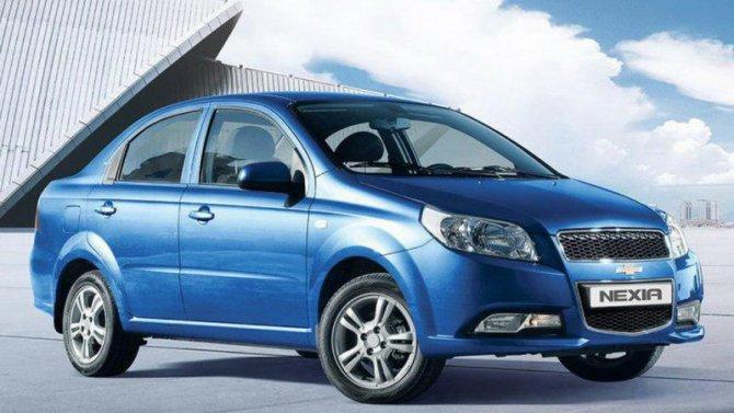 Выросли рублёвые цены натри модели Chevrolet