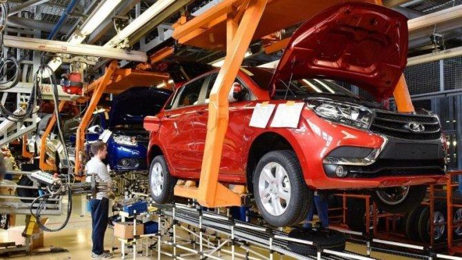 ВРоссии выросло производство автомобилей
