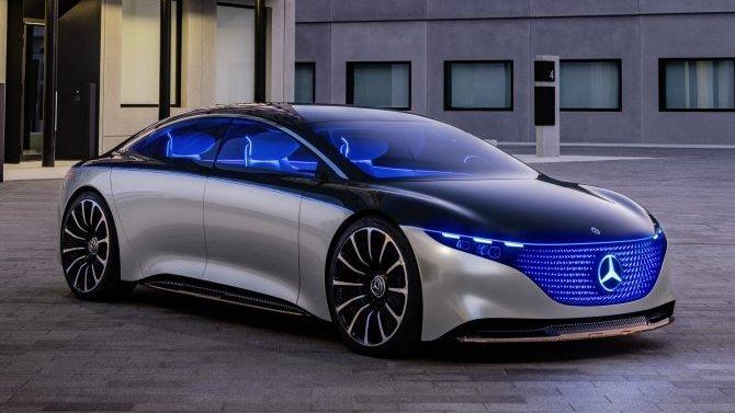 Mercedes-Benz EQS: обнародована часть характеристик