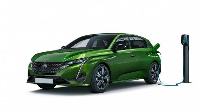 Peugeot 308 через два года получит электрическую версию