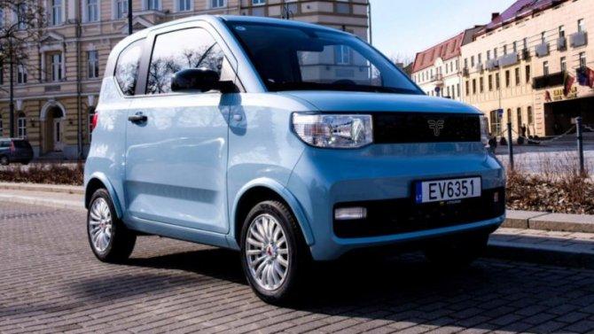 ВЛатвии начался выпуск самого дешёвого вЕвропе электромобиля
