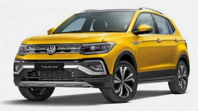Представлен крососвер Volkswagen Taigun