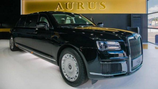 Начался приём заказов наAurus Senat Limousine