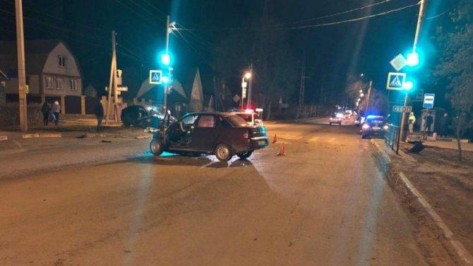 Два человека пострадали в ДТП в Тамбове