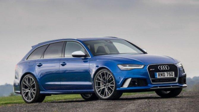 «Заряженный» универсал Audi RS6 Avant стал «фотомоделью»