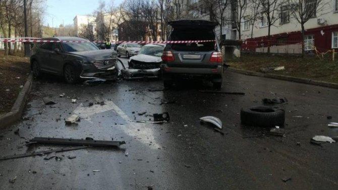 Два человека погибли в массовом ДТП в Хабаровске