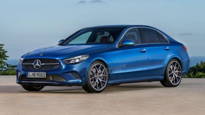 ВРоссии начат приём заказов нановый Mercedes-Benz C-Кlassе