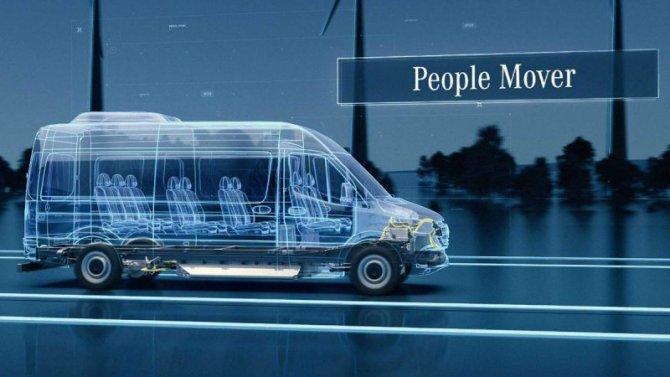 Новый Mercedes-Benz eSprinter будет выпускаться в США