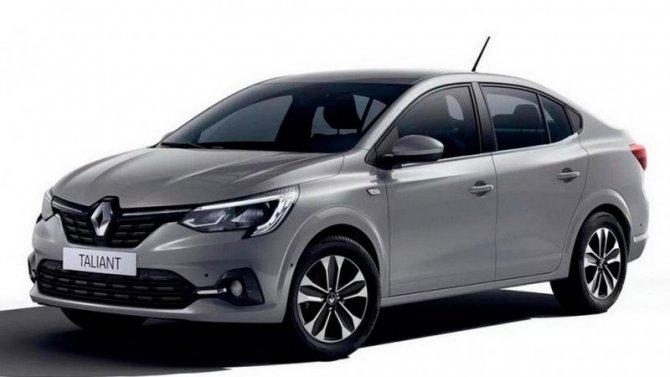 Опреемнике Renault Logan стало известно больше