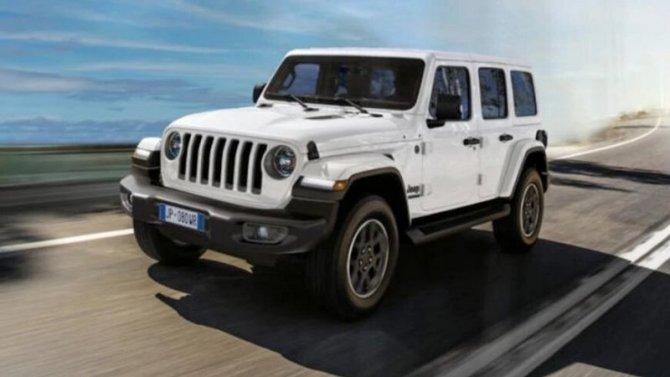 «Юбилейный» Jeep Wrangler: скоро вРоссии