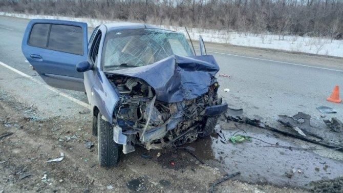 Водитель иномарки погиб в ДТП в Новосергиевском районе Оренбургской области