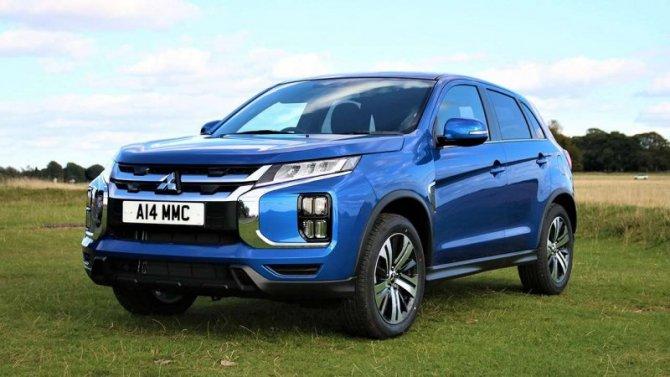 ВРоссии выросла стоимость трёх моделей Mitsubishi