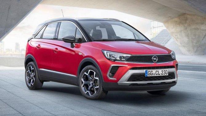 ВРоссии начались продажи обновлённого паркетника Opel Crossland