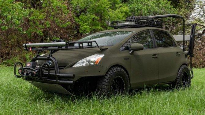 ВСША представлена «хищная» версия Toyota Prius