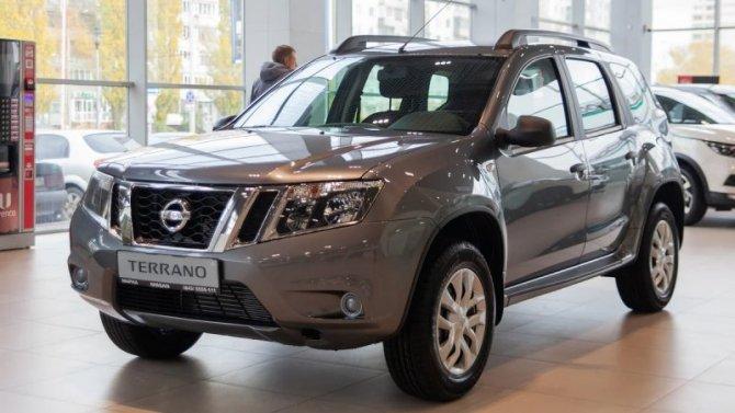 Подорожал кроссовер Nissan Terrano