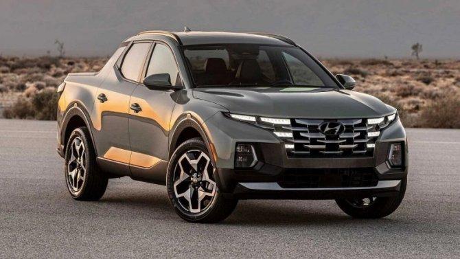 Состоялась премьера пикапа Hyundai Santa Cruz