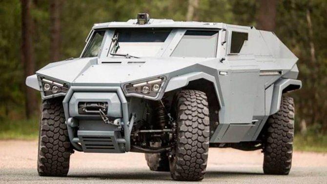 ВоФранции создан бронеавтомобиль передовой конструкции