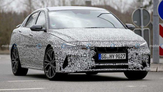 Hyundai Elantra Nможет появиться вЕвропе
