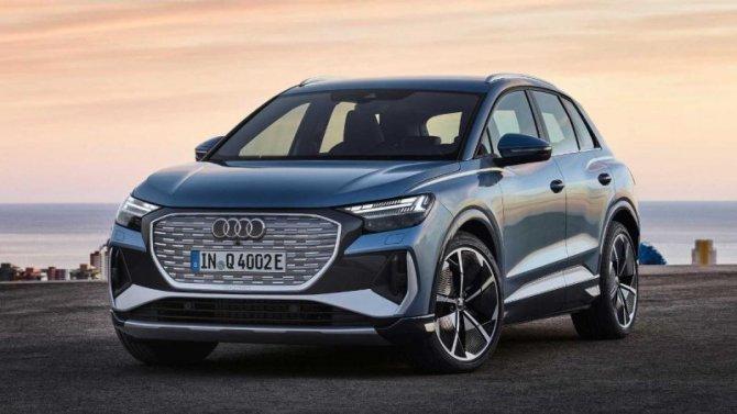 Представлены новые электрокроссоверы Audi