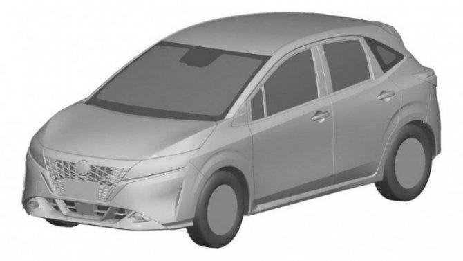 ВРоссии запатентованы две модели Nissan