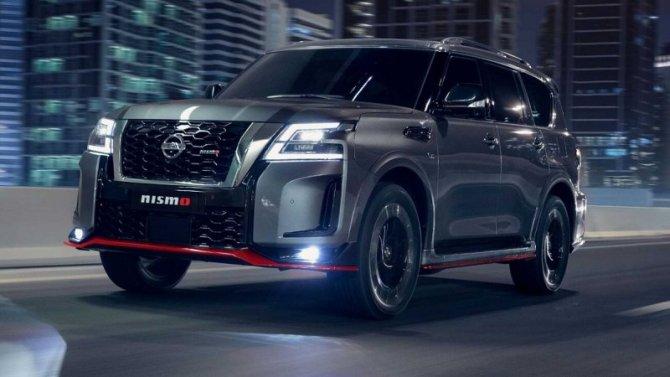Представлен внедорожник Nissan Patrol Nismo