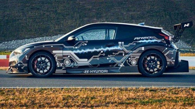Hyundai работает над гоночными электромобилями